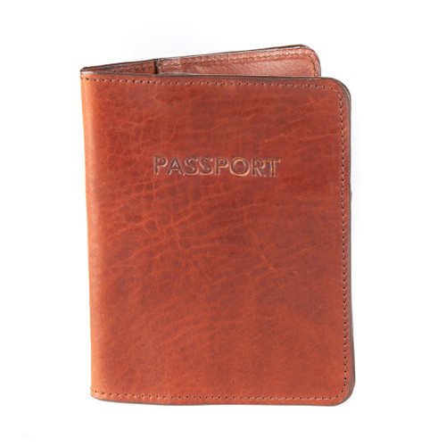 Passport Sleeve in Cognac