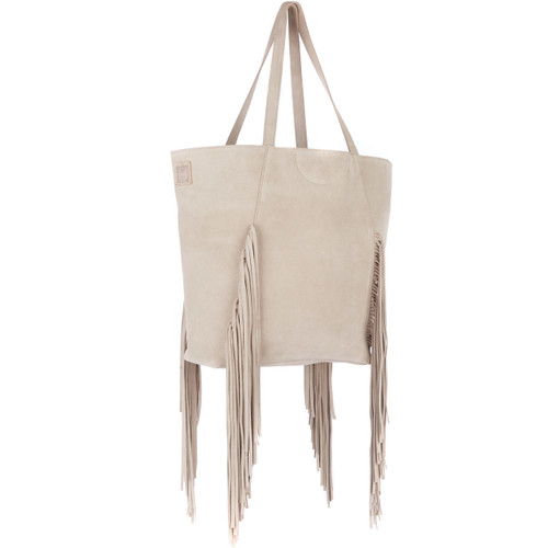 Pixie in Sand Suede
