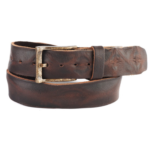 Cava Leather Belt in Brown