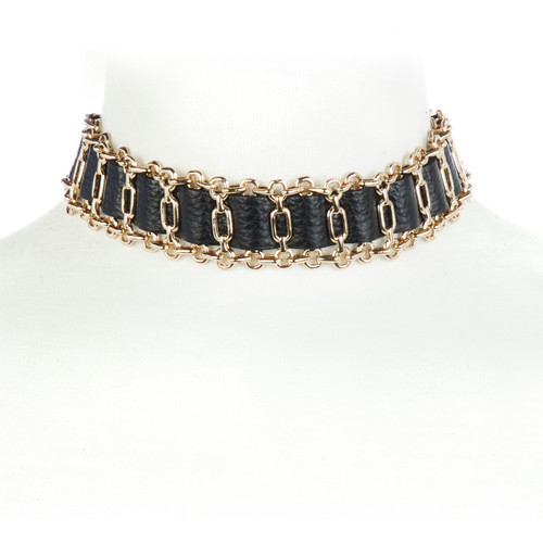Mochan Leather Choker