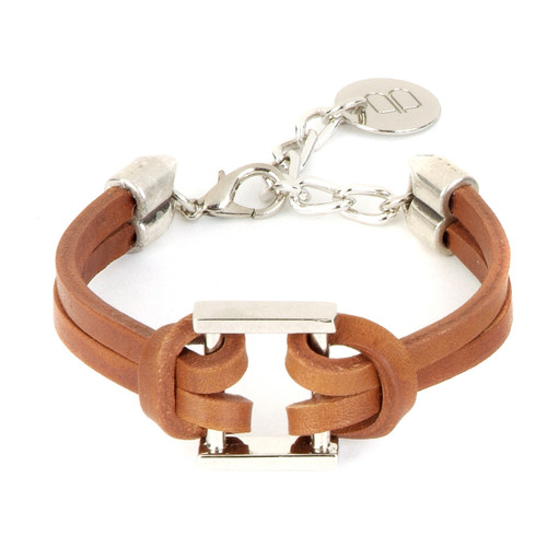 Judoc bracelet in brandy