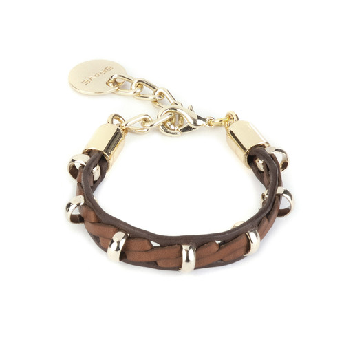 Kaipo bracelet in brandy