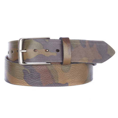 Chisomno Camo Leather Belt