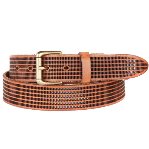 Vinzenz Leather Belt in Whiskey