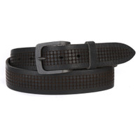 Bix Leather Belt in Black