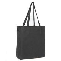 GIOVANA TOTE IN BLACK SUEDE