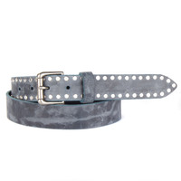 PAX LEATHER BELT IN BLUE