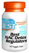 Doctor's Best NAC Detox Regulators 60 Vegetarian Capsules