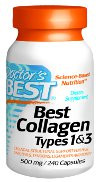 Doctor's  Best Collagen Types 1 & 3 500 mg 240 Capsules