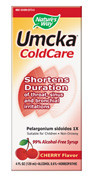 Nature's Way Umcka ColdCare - Cherry Flavor Syrup 4 fl oz. Best by date 08/31/13
