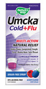 Nature's Way Umcka Cold + Flu - Berry Flavor Syrup 4 fl oz. Best by date 08/31/13