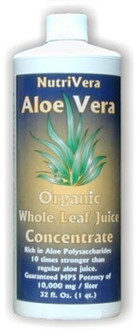 NutriVera Nutraceuticals Aloe Vera Juice 32 Fl oz.