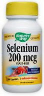 Nature's Way Selenium 200 mcg - 100 Capsules