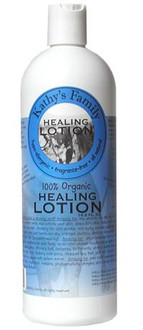 Kathy's Family 100% Organic Healing Lotion 8 oz.