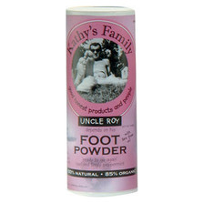 Kathy's Family 100% Organic Foot Powder 4 oz.