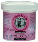 Kathy's Family 100% Organic Foot Scrub 7.5 oz.