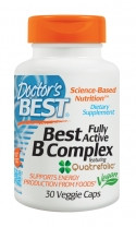 Doctor's Best B-Complex 30 V-Caps