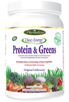 Paradise Herbs ORAC-Energy Protein & Greens