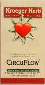 Kroeger Herb CircuFlow 270 Capsules