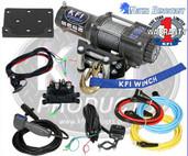 KFI 4500 Wide Winch Kit