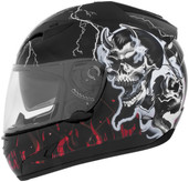 Cyber US-97 Good N Evil Helmet Sm Good N Evil Red 640781