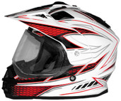 Cyber UX-32 Graphics Helmet XS White/Red 640980