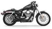 Freedom Performance Exhaust Sharp Curve Radius Black