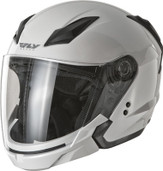 Fly Racing Tourist Solid Open Face Helmet XS Pearl White F73-8104-1