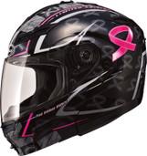 GMAX GM 54S Pink Ribbon Modular Helmet XL Pink Ribbon G1545407 TC-14