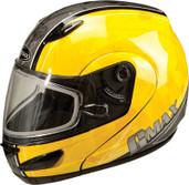 GMAX GM44S Modular Multi Color Snow Helmet XS Yellow G6442233 TC-4