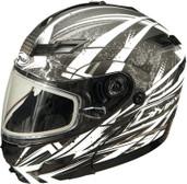 GMAX GM54S Modular Multi Color Snow Helmet Lg Flat Black G2544606 F.TC-15