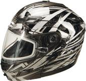 GMAX GM54S Modular Multi Color Snow Helmet Lg Silver G2544546 TC-19