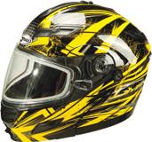 GMAX GM54S Modular Multi Color Snow Helmet Lg Yellow G2544236 TC-4