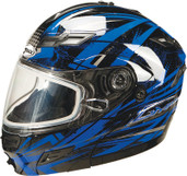 GMAX GM54S Modular Multi Color Snow Helmet Md Blue G2544215 TC-2