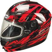 GMAX GM54S Modular Multi Color Snow Helmet Md Red G2544205 TC-1