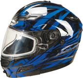 GMAX GM54S Modular Multi Color Snow Helmet XL Blue G2544217 TC-2