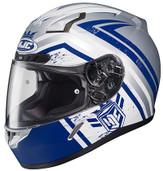 HJC CL-17 Mech Hunter Helmet LRG Blue 836-824