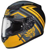 HJC CL-17 Mech Hunter Helmet LRG Yellow 836-834