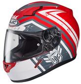 HJC CL-17 Mech Hunter Helmet XSM Red 836-811