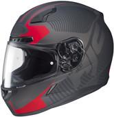 HJC CL-17 Mission Helmets 3XL Matte Red 832-817