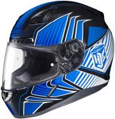 HJC CL-17 Redline Helmets LRG Blue Multi 828-924