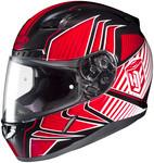 HJC CL-17 Redline Helmets MED Red Multi 828-913