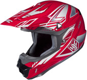 HJC CL-X6 Fulcrum Helmets LRG Red Multi 738-914