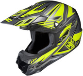HJC CL-X6 Fulcrum Helmets SML HI Viz Yellow 738-932