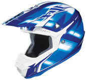 HJC CL-X6 Spectrum Helmet Lg Black/Blue HJC734-924