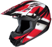 HJC CL-X6 Spectrum Helmet Md Black/Red HJC734-913