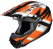 HJC CL-X6 Spectrum Helmet Sm Black/Orange HJC734-972