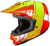 HJC CL-X7 Cross Up Helmet 3X Orange/Hi Viz 748-967