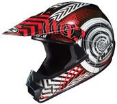 HJC CL-XY Youth Wanted Helmet Juniors - XS Black/Red HJC274-912
