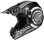 HJC CL-XY Youth Wanted Helmet Juniors - XS Black/Silver HJC274-952